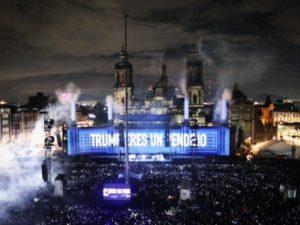 """""""Τραμπ είσαι ηλίθιος""""! Χαλασμός σε συναυλία του Roger Waters! [vids,pics]"""