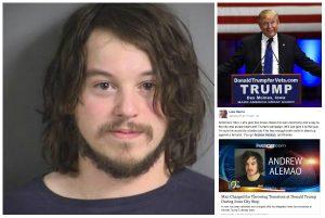 «Ήρωας» του ίντερνετ ο 28χρονος που έριξε ντομάτες στον Ντόναλτ Τραμπ (ΒΙΝΤΕΟ)