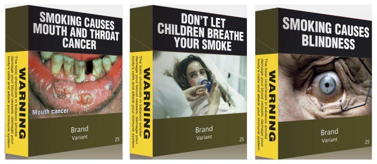 Σοκάρουν τα νέα πακέτα τσιγάρων στην Αυστραλία