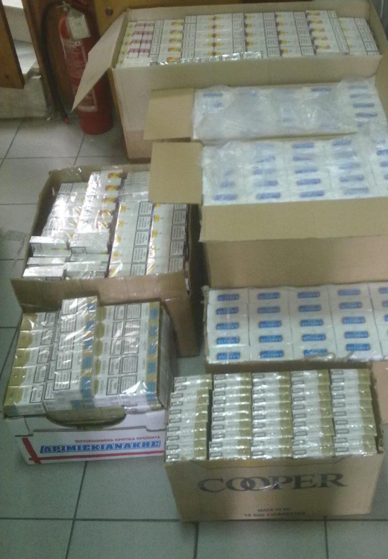 Πιερία: Θα έβγαζε στην αγορά 4.250 πακέτα παράνομων τσιγάρων | Newsit.gr