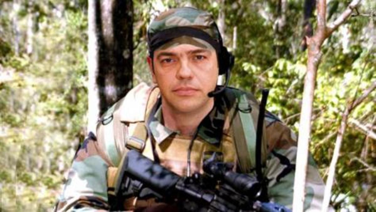 Ποιοι «έντυσαν» τον Τσίπρα …βατραχάνθρωπο και του κάνουν επίθεση για τη θητεία | Newsit.gr