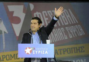"""Εκλογές: Η νεολαία του ΣΥΡΙΖΑ """"κουνάει"""" μαντήλι στον Τσίπρα"""