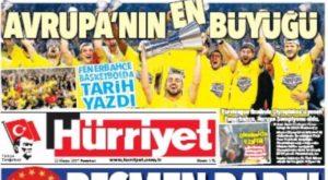 Φενέρμπαχτσε – Ολυμπιακός: Ο τουρκικός Τύπος «αποθεώνει» την ομάδα του Ομπράντοβιτς