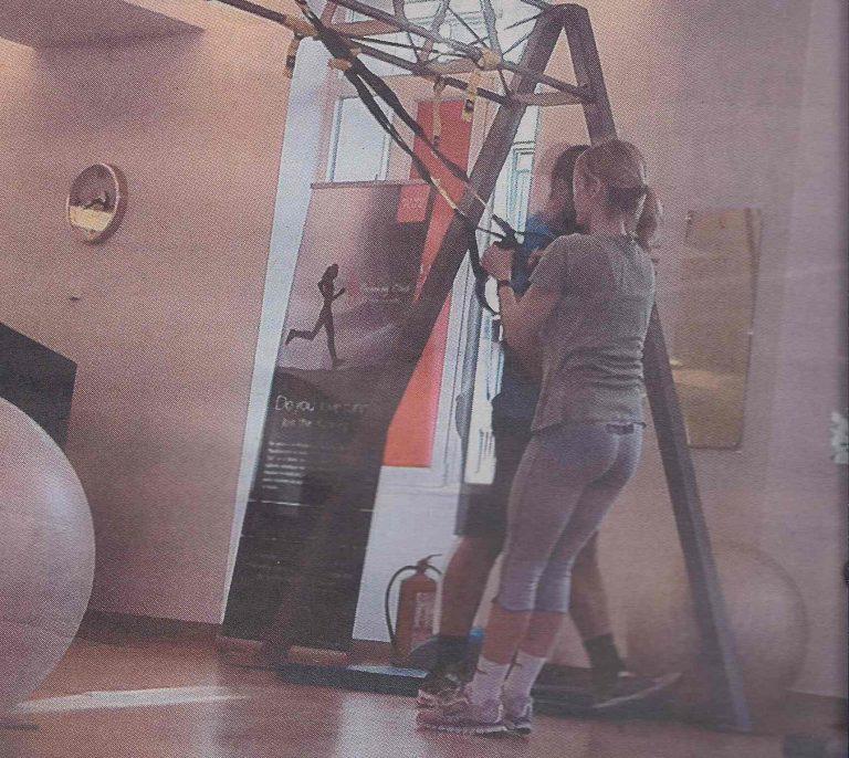 Στο γυμναστήριο η «πράσινη» Τίνα! Δείτε φωτο   Newsit.gr