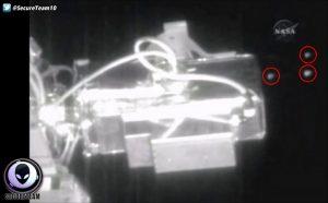 Εντόπισαν 6 UFO σε μέγεθος παγόβουνου κοντά στον Διεθνή Διαστημικό Σταθμό! [vid]