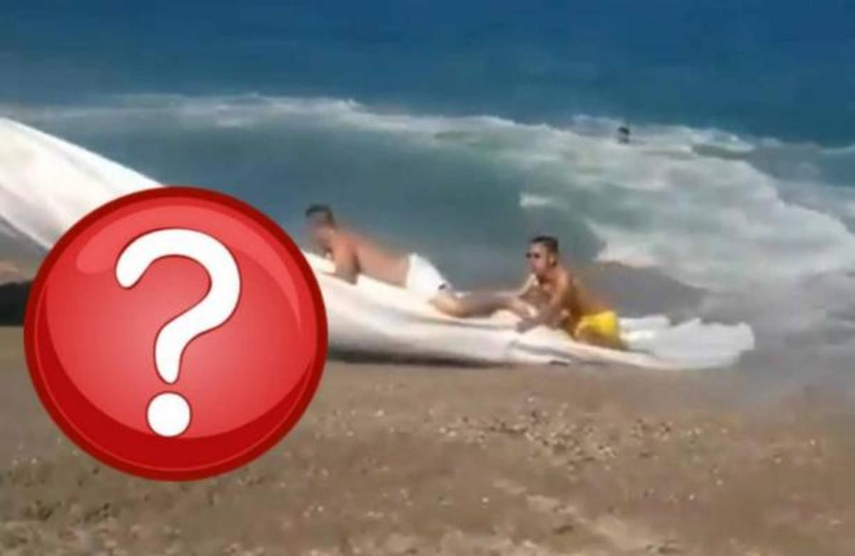 Το πιο παράξενο θαλάσσιο σπορ! – Κι όμως δεν είναι αυτό που νομίζετε!   Newsit.gr