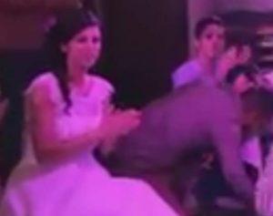 Θεσσαλονίκη: Τα έχασε η νύφη με το ζεϊμπέκικο του γαμπρού – Το βίντεο που έγινε viral [vid, pics]