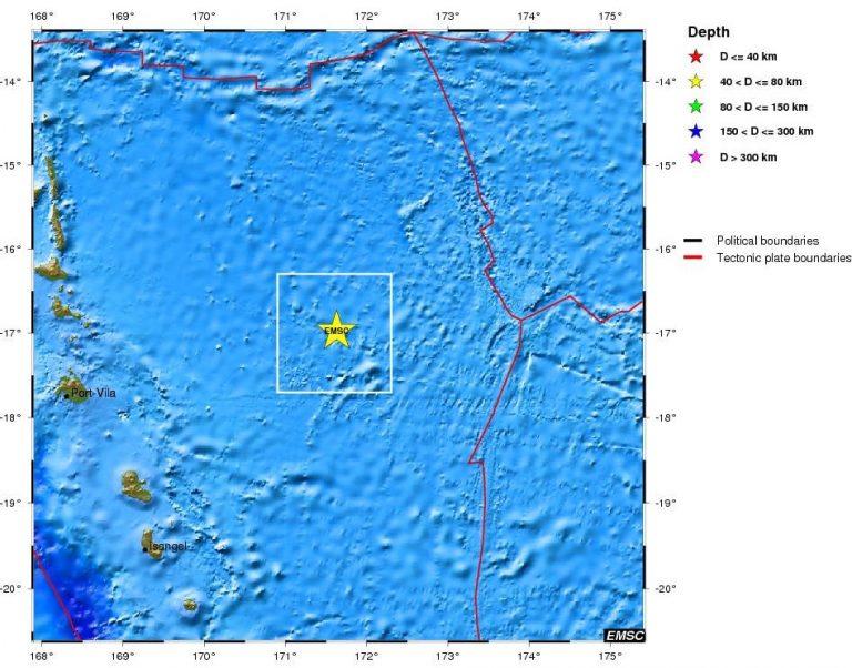 Ισχυρός σεισμός στο νότιο Ειρηνικό | Newsit.gr