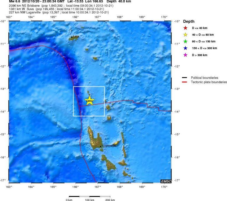 Σεισμός 6,6 Ριχτερ στον Ειρηνικό | Newsit.gr