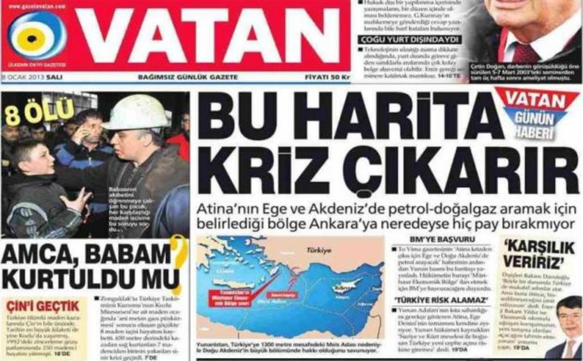 Για «ενδεχόμενη κρίση λόγω ΑΟΖ» μιλούν οι Τούρκοι | Newsit.gr