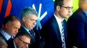 Euro 2016: Νανούλια! Το Αγγλία – Σλοβακία αποκοίμισε τον πρόεδρο της UEFA (VIDEO)