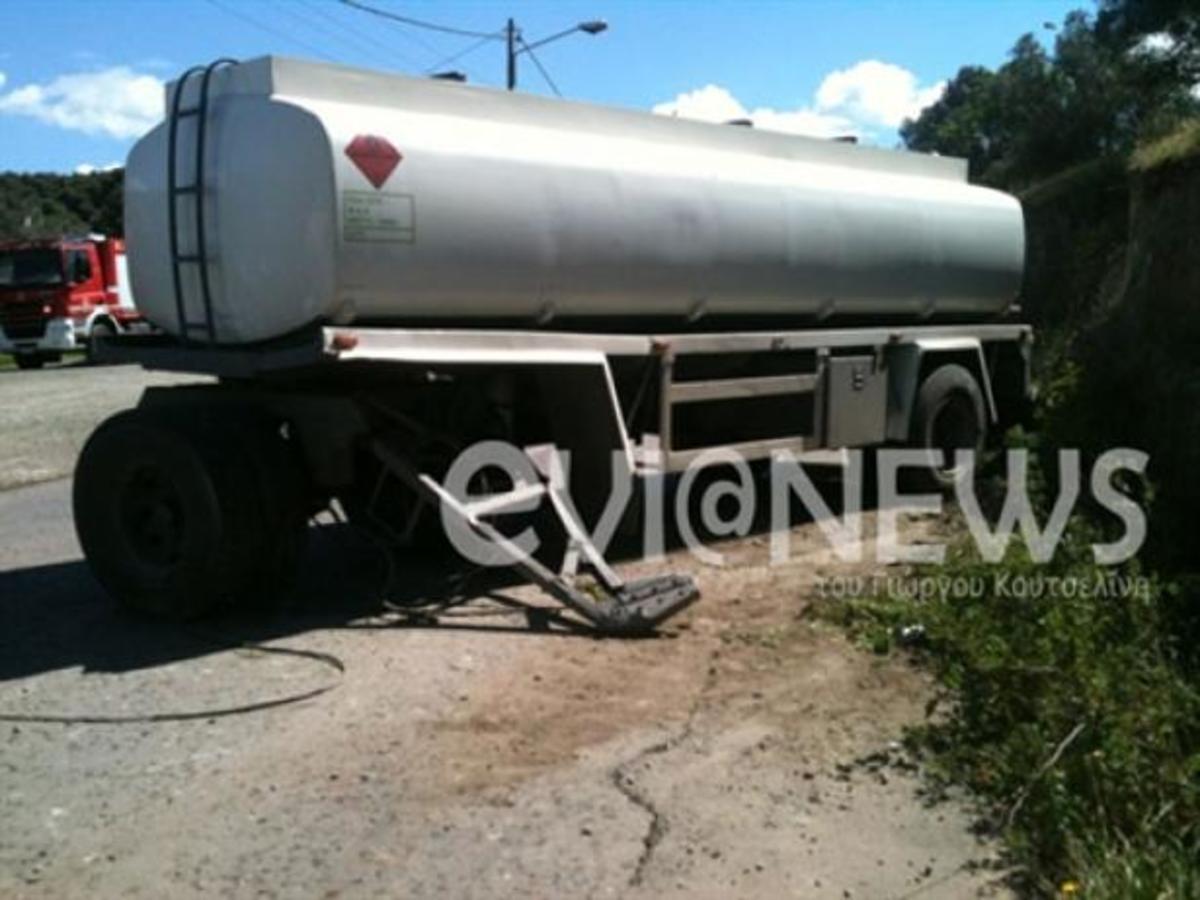 Εύβοια: Βυτιοφόρο προκάλεσε τον τρόμο στην Αρτάκη – ΒΙΝΤΕΟ   Newsit.gr