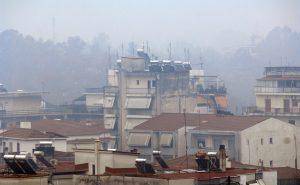 """Βόλος: Στο """"κόκκινο"""" η ατμοσφαιρική ρύπανση"""
