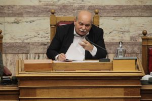 Βούτσης: Δεν είπαμε να αποθεώσετε την κυβέρνηση, αλλά να πείτε ένα καλό λόγο υπέρ της χώρας