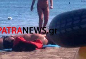 Ρόδος: Χαμός στο διαδίκτυο με το μπικίνι της Δήμητρας Λιάνη Παπανδρέου – Δείτε τις εικόνες (Φωτό)!