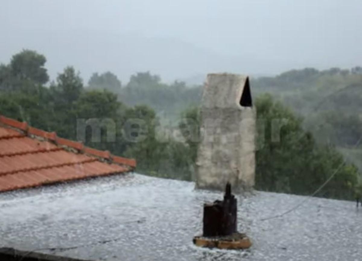 Το έστρωσε… το χαλάζι στην Αρχαία Ολυμπία! – video! | Newsit.gr