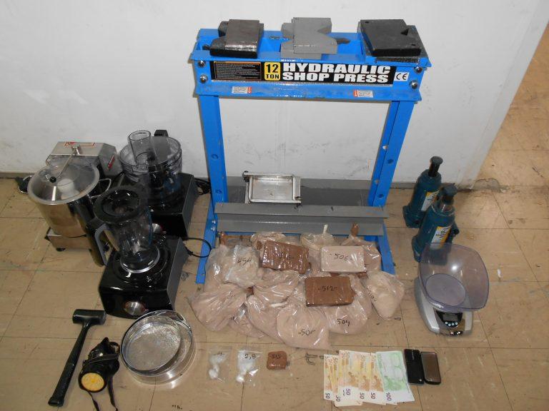 Έφτιαξαν ολόκληρο εργαστήριο ηρωίνης | Newsit.gr