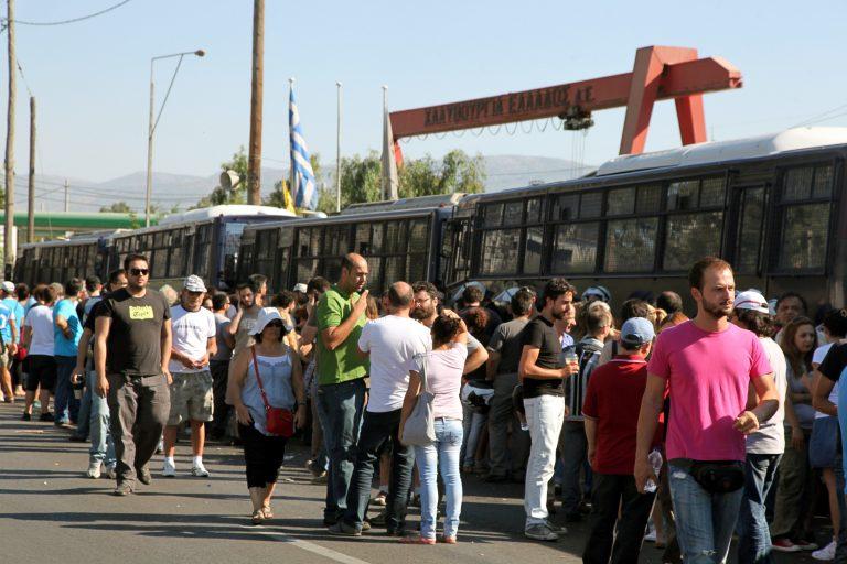 Τετ α τετ Βρούτση-χαλυβουργών το μεσημέρι | Newsit.gr
