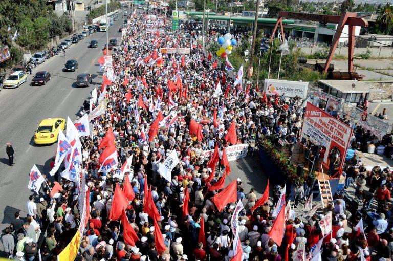 ΚΚΕ: Κυβέρνηση κι εργοδοσία τα «έκαναν πλακάκια» για να σταματήσει η απεργία στη Χαλυβουργία | Newsit.gr