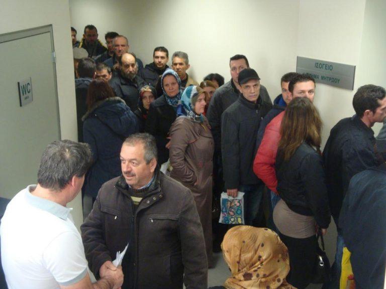 Ξάνθη: Ταλαιπωρία και εκνευρισμός στις ουρές του ΙΚΑ – ΒΙΝΤΕΟ   Newsit.gr