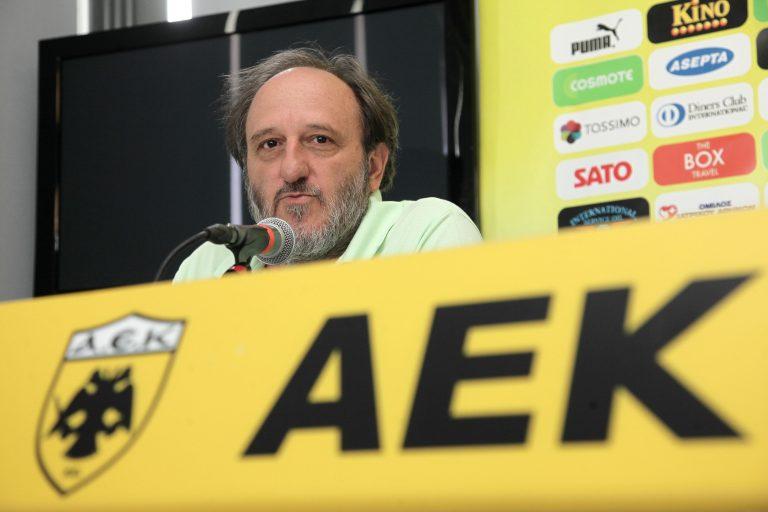 Επεισοδιακή Γ.Σ. της Ερασιτεχνικής ΑΕΚ – Γιαούρτωσαν τον Χατζηχήστο! | Newsit.gr