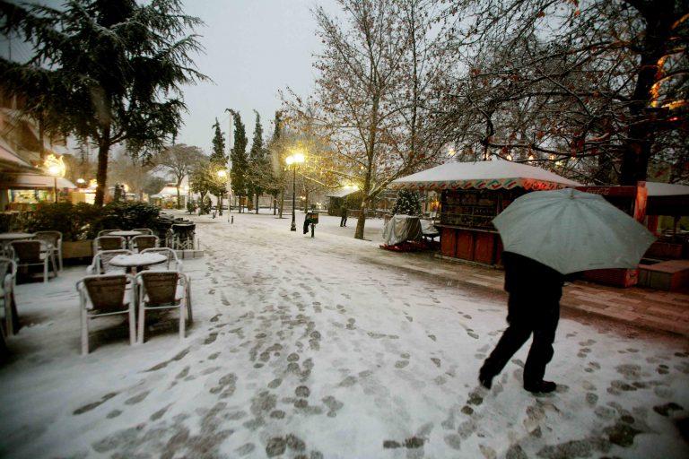 Χιόνια στη Μακεδονία – Που χρειάζονται αλυσίδες | Newsit.gr