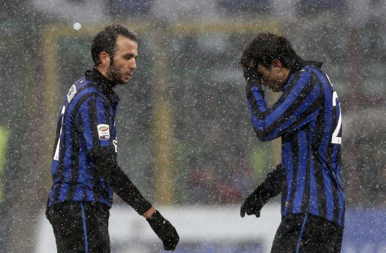 Το χιόνι νικάει το ποδόσφαιρο – Αναβλήθηκε το Ρόμα-Ίντερ | Newsit.gr