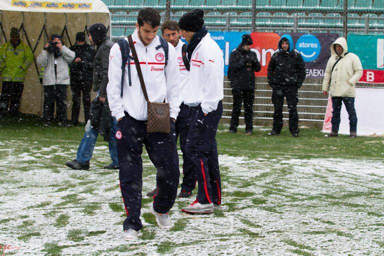 Οριστική αναβολή στο Πανθρακικός – Ολυμπιακός! | Newsit.gr