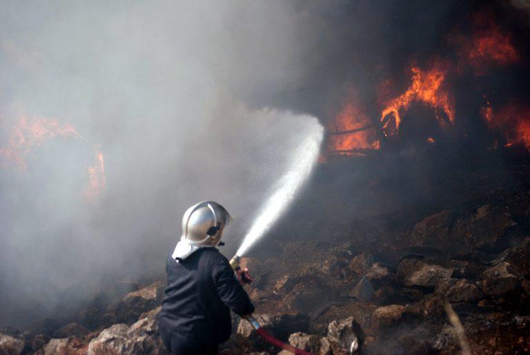 Κρανίου τόπος η Χίος – Απειλεί τα μαστιχοχώρια η φωτιά | Newsit.gr