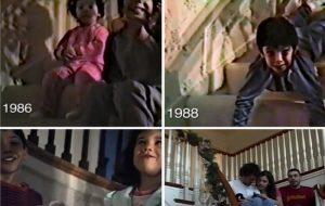 Συγκινητικό! Έβγαζαν 25 χρόνια το ίδιο βίντεο τα Χριστούγεννα