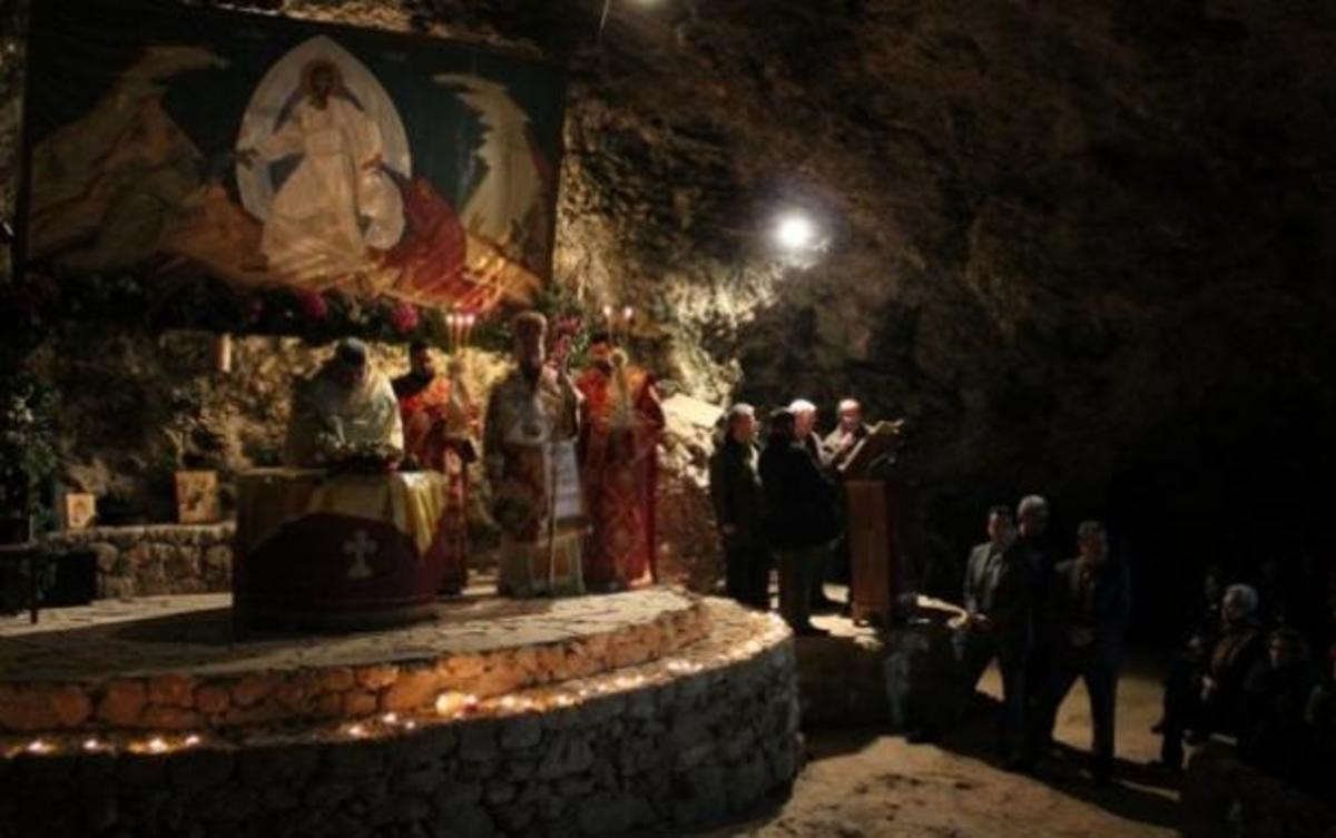 Η παραμονή Χριστουγέννων στο Σπήλαιο της Μαραθοκεφάλας – ΒΙΝΤΕΟ | Newsit.gr