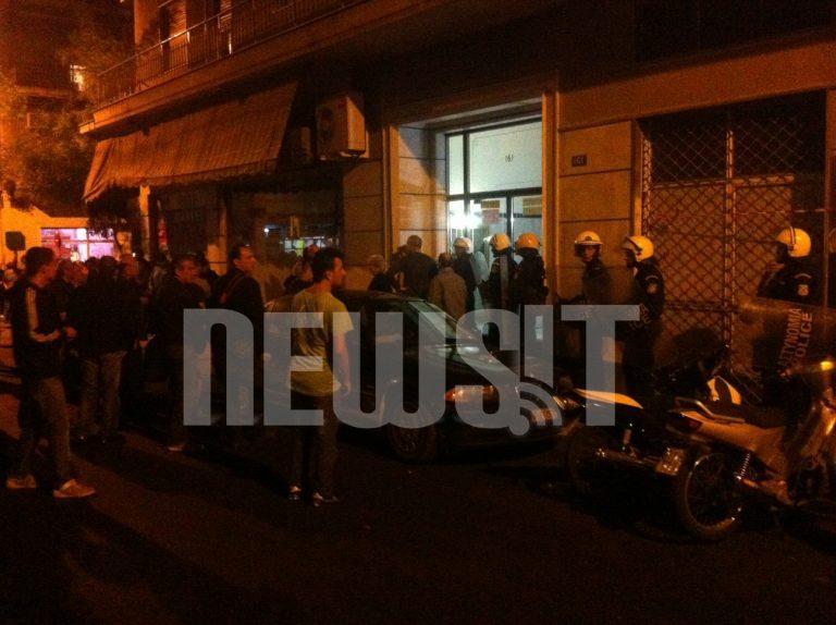 Συγκεντρώθηκαν πάλι οι κάτοικοι του Αγίου Παντελεήμονα   Newsit.gr