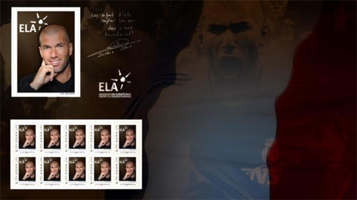 Ο Ζιντάν σε γραμματόσημο! | Newsit.gr