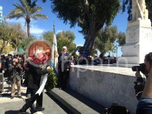 25η Μαρτίου: Αποδοκίμασαν τον Ζουράρι στον Ηράκλειο [pics]