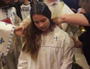 Βόλος: Βαφτίστηκε 12χρονη μαθήτρια – Τα όνειρα της ανήλικης από τη Νέα Ιωνία [pics]