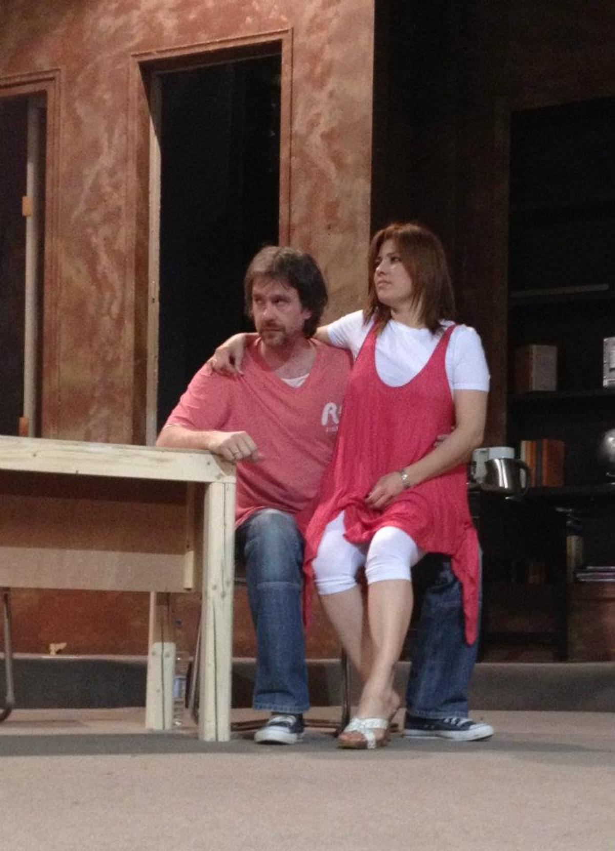 Α. Σταύρου – Μ. Τουμασάτου: Πρόβες για την θεατρική τους πρεμιέρα! Backstage φωτογραφίες | Newsit.gr