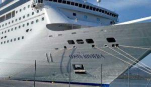 Βόλος: Θαυμασμός για την πλωτή πολιτεία – Έδεσε στο λιμάνι το Costa Riviera!