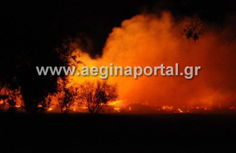 Αίγινα: Κίνδυνος οικολογικής καταστροφής από φωτιά σε χωματερή – Δείτε το βίντεο!   Newsit.gr