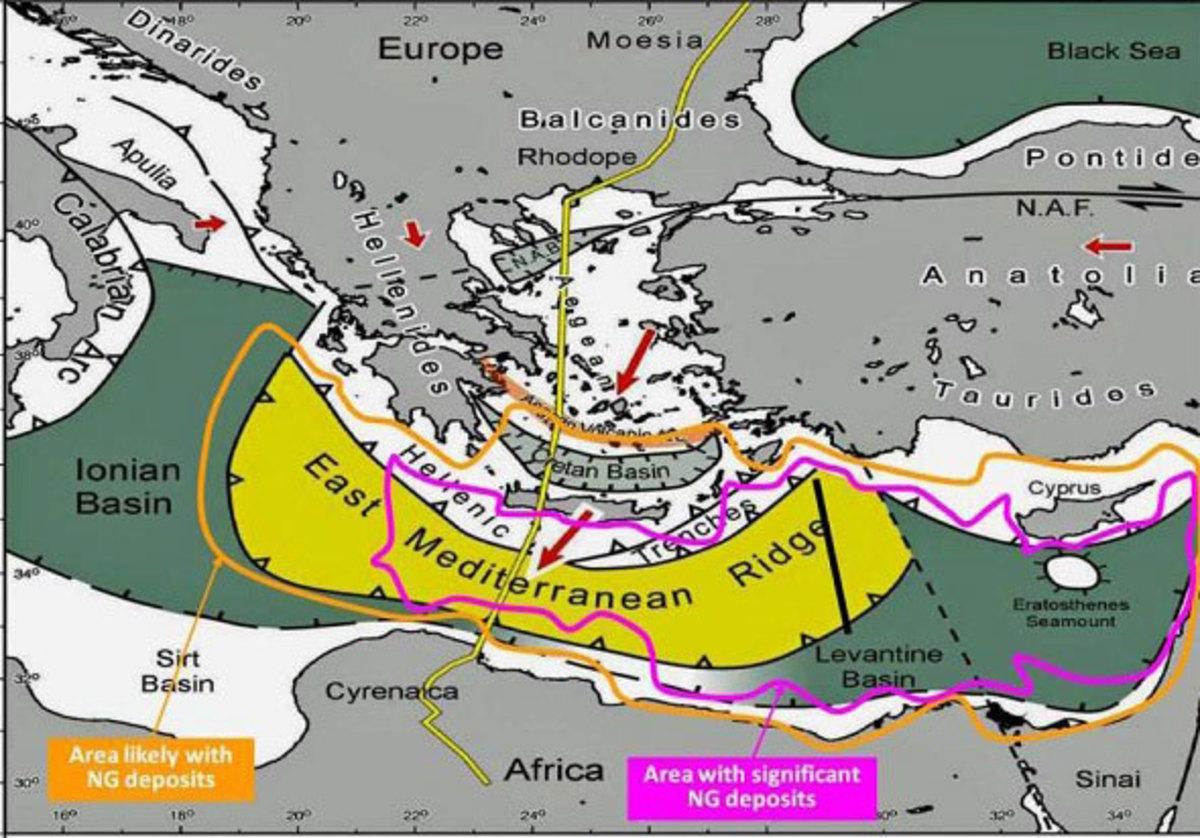 Deutsche Bank: Η Ελλάδα ξεχρεώνει το 2020! Μπορεί να βγάλει 214 δισ ευρώ από το φυσικό αέριο νοτίως της Κρήτης!   Newsit.gr