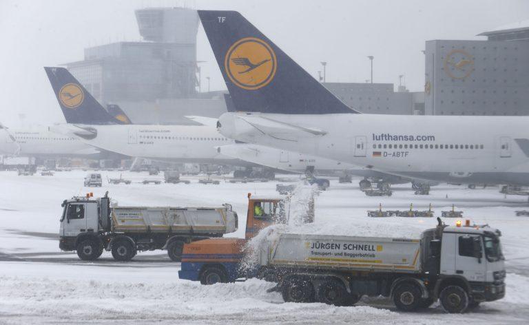 Σφοδρή κακοκαιρία στην Ευρώπη – Έκλεισε το αεροδρόμιο της Φρανκφούρτης (ΦΩΤΟ) | Newsit.gr