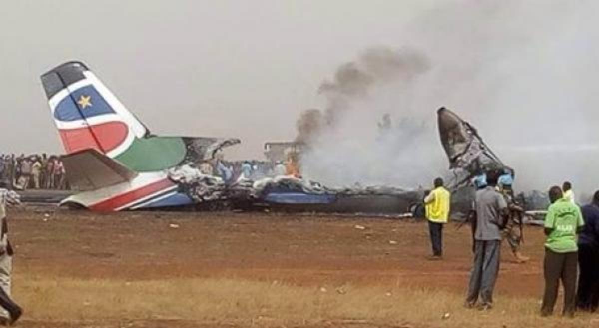 Συντριβή αεροσκάφους στο Σουδάν: Δεν πέθανε κανείς   Newsit.gr