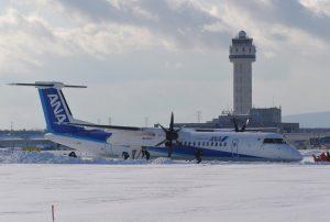 Θρίλερ στον… διάδρομο προσγείωσης! Αεροπλάνο «σταμάτησε» στα χιόνια