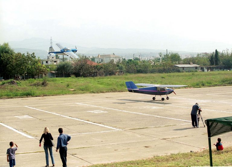 Έπεσε μικρό αεροσκάφος στην Καβάλα | Newsit.gr