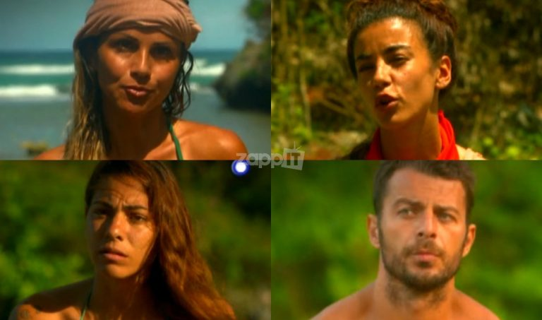 Survivor: Συμμαχούν τρεις Διάσημες με τον Χανταμπάκη κατά του Γιώργου Αγγελόπουλου! | Newsit.gr