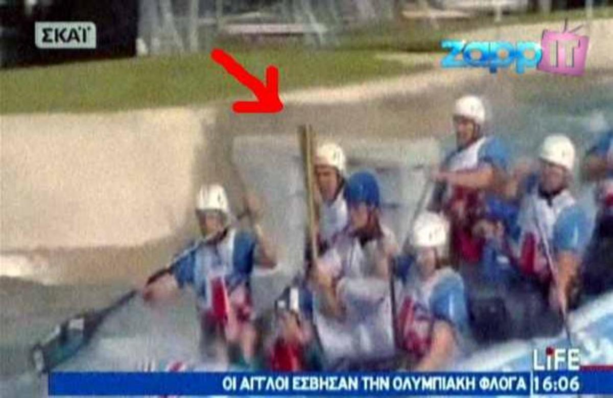 Οι Άγγλοι κατάφεραν να σβήσουν την Ολυμπιακή φλόγα! | Newsit.gr