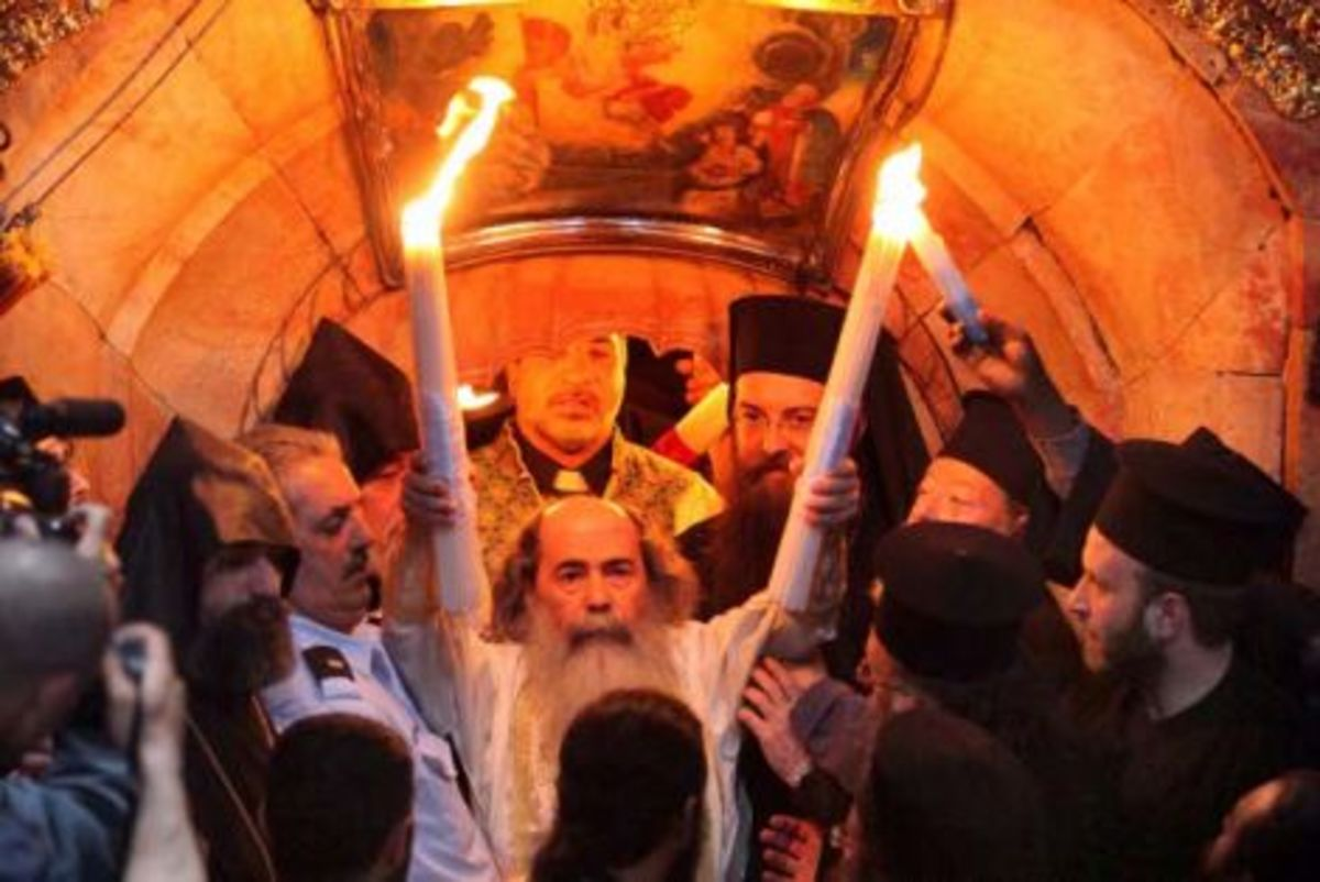Άγιο Φως: Μια μοναδική ιστορική μελέτη | Newsit.gr