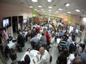 Debate πολιτικών αρχηγών: Τίγκα από δημοσιογράφους το κυλικείο της ΕΡΤ (ΦΩΤΟ)