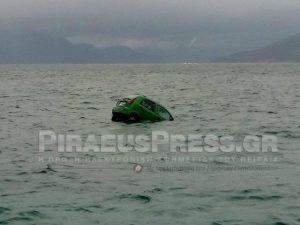 Αυτοκίνητο έπεσε στο λιμάνι της Αίγινας! [pic]