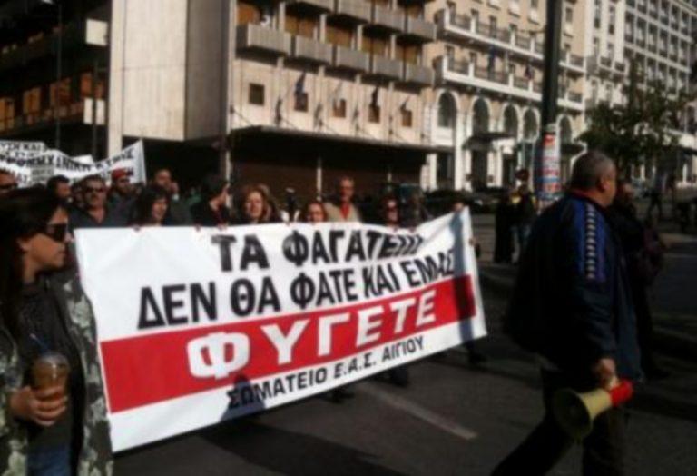 Εργαζόμενοι της ΕΒΟ Αιγίου απέκλεισαν τη γέφυρα Μεγανίτη | Newsit.gr