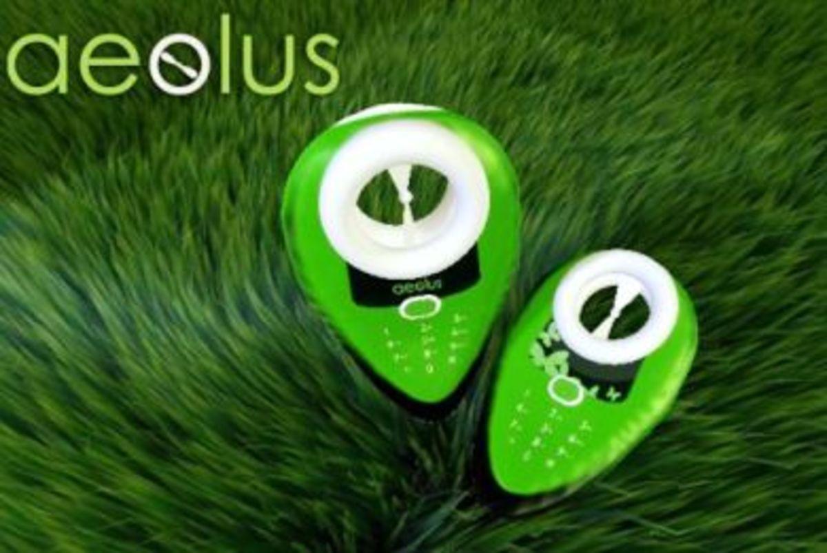 Δείτε, το οικολογικό κινητό,  που φορτίζεται με… αέρα !   Newsit.gr